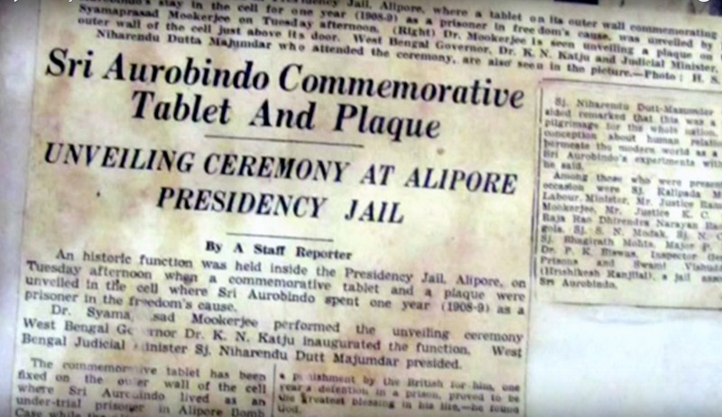 Newspaper report on the Commemoration